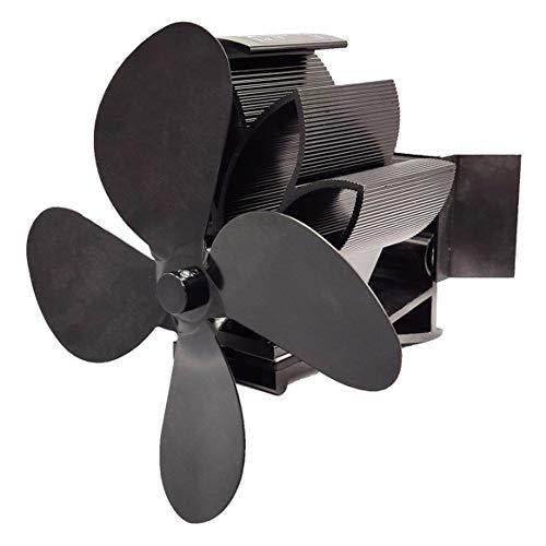 Kongqiabona-UK Ventilador de Estufa de Aire Caliente, con