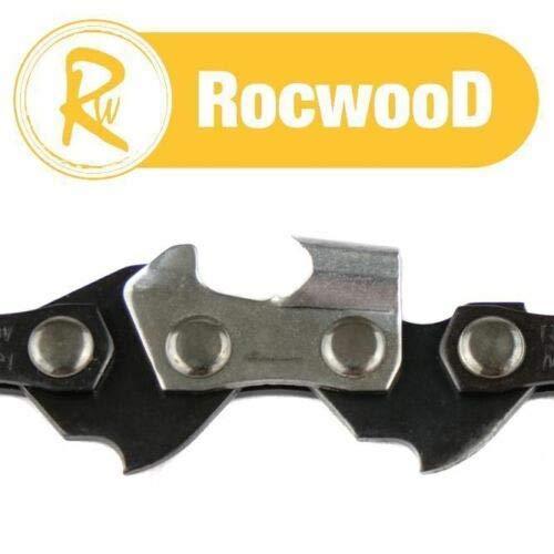 Lot de 2 chaînes de tronçonneuse BMS pour tronçonneuse Ryobi RCS3540 40,6 cm