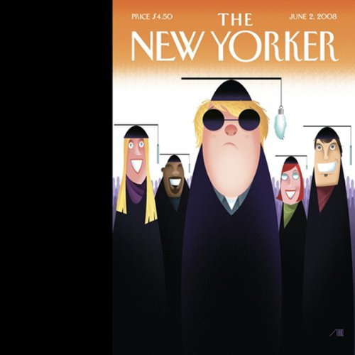 The New Yorker, June 2, 2008 audiobook cover art