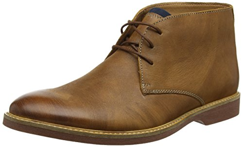 Clarks Men's Atticus Limit Chukka Boots, Braun (Tan Leather), 43 EU