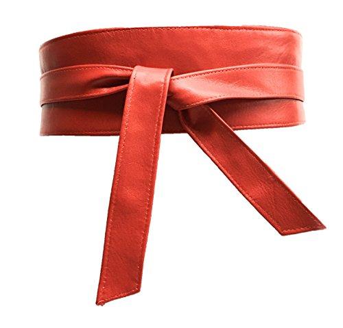 Yojan Piel - Cinturón Fajín mujer en piel autentica | Ajustable a su medida Resistente y duradero para Regalar a Hombres y asistir a Eventos Formales | Cómodo, Duradero y Elegante