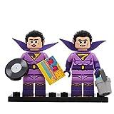 Lego The Batman Movie Series 2 Minifigure - JAYNA + ZAN Wonder Twins Pack (2 pezzi)