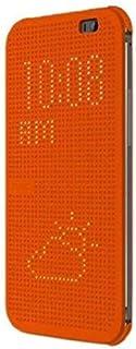 HTC One (M8) Dot View Cover HC M100 - Orange