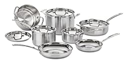 Cuisinart MCP-12N Multiclad Pro Stainless Steel 12-Piece Review
