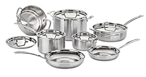 Cuisinart MCP-12N MultiCladPro Stainless Steel Cookware Review