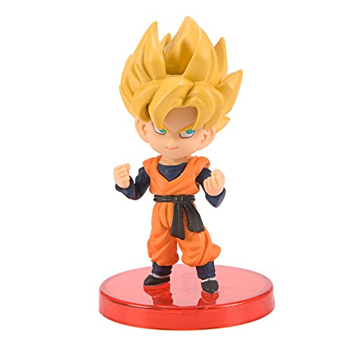 Dragon Ball Z WCF Super Saiyans Son Goten SSJ SSJ Figura (Juguete)