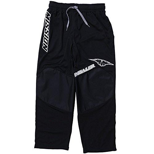 Mission Inhaler NLS:03 Inline Hockey Pants - Senior - X-Large - Black/White