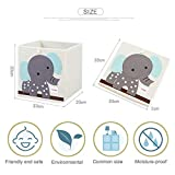 Zoom IMG-1 scatola portaoggetti pieghevole bambini contenitore