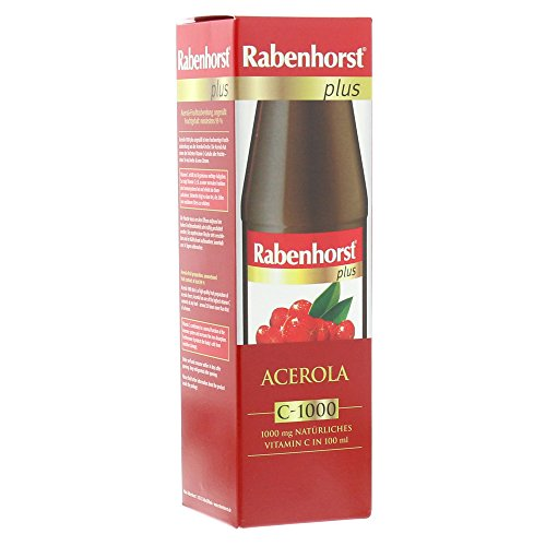 Rabenhorst Acerola Plus C 1000 Saft Unges��t, 450 ml