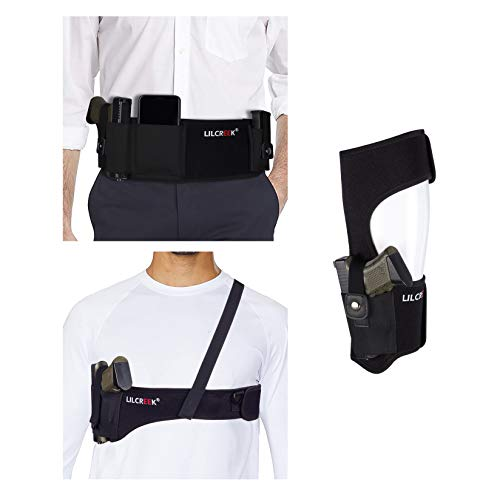 Lilcreek Bundle of Left/Right-Handed Avaliable Belly Band...
