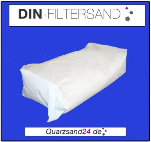 25 KG MEINPOOL24.DE FILTERSAND FILTERKIES DIN-FILTERSAND QUARZSAND 0,71-1,25 MM