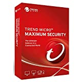 Trend Micro Maximum Security v.16 (2020) 3 PC s- 1 Year Subscription | PC/Mac/Android/iOS | Download only- Email delivery in 24 hours | No Shipment included