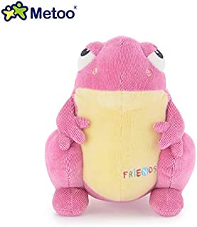 EOFK 22Cm New I Cartoon Toys Boys Girls Cute Lovely Stuffed Dolls Kids Children Dog Rabbit Frog Toys New Gift Baby Boy Must Haves 6 Year Old Boy Gifts My Favourite Superhero Coloring Unboxing