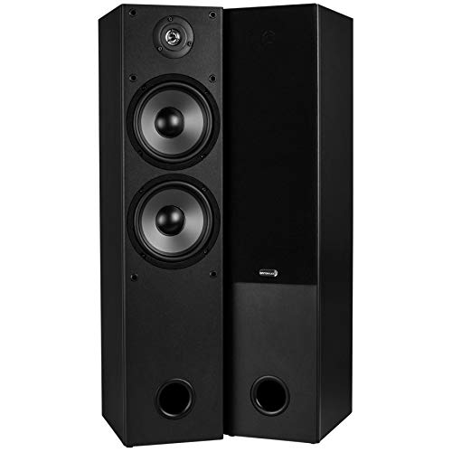 Dayton Audio T652 Dual 6-1/2' 2-Way Tower Speaker Pair