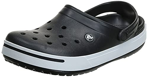 Crocs Men's 11989M Clog,Black/Black,13 M US