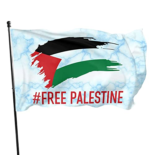 Free Palestine Flags Garden Flag Home Decor Welcome Sign for Front Door Outdoor Holiday Decorations,3 * 5ft