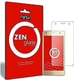 ZenGlass Nandu I Protector de Vidrio Flexible Compatible con Cubot Echo I Protector de Pantalla 9H I (más pequeño Que la Pantalla Curva)