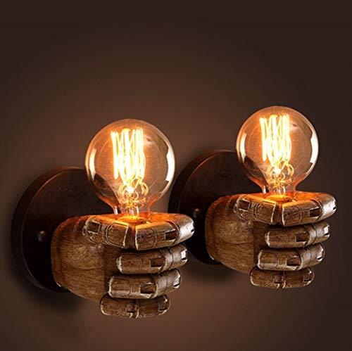Waterpijplicht wandlamp industriële messing kandelaar Edison lamp retro metalen wandlamp vintage retro plafondverlichting retro lamp [energie-efficiëntieklasse A++]