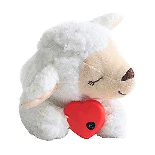 IrahdBowen Hondenspeelgoed, pluche, verbeterde verwarming, hartslag, pluchen dier voor huisdieren puppys, gedragstraining, hulpmiddel, speelgoed, knuffelpluche, angst, verlichting, slaapmiddel, Astonishing