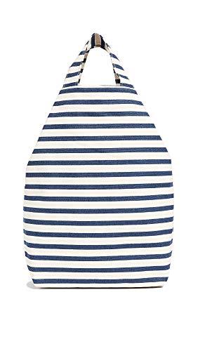BAGGU Duck Bag Canvas Tote - Sailor Stripe