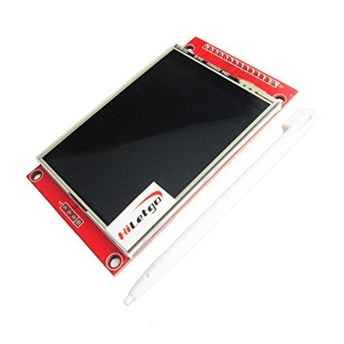 HiLetgo ILI9341 2.8' SPI TFT LCD Display Touch Panel 240X320 with PCB 5V/3.3V STM32