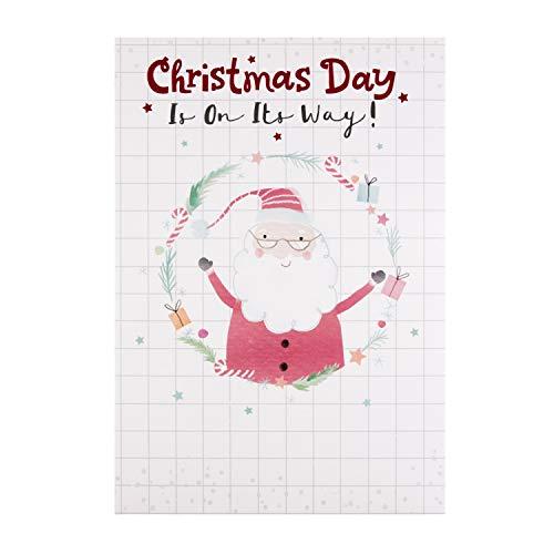 Hallmark - Biglietto di Natale per bambini, motivo: lettera a Babbo Natale