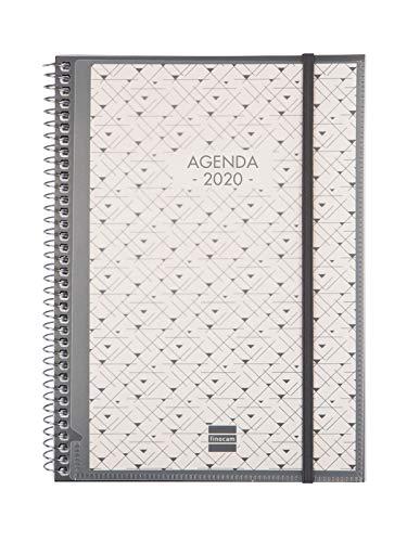 Finocam - Agenda 2020 semana vista vertical Espiral Personalizable español