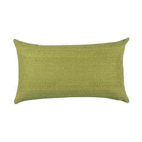 Salosan® Sofakissen, Lounge Rückenkissen, Kopfkissen, Couch- oder Palettenkissen, Dekokissen Strukturpolsterstoff in 7 Unifarben für Trendiges Wohndesign. Größe 40x70 cm (Grün)