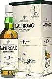 Laphroaig 10Y + estuche con 2 vasos - 700 ml