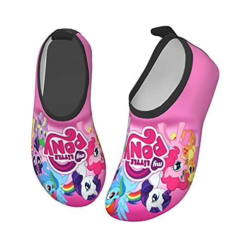 M_Y Li_Ttle Poster Chaussures aquatiques pour enfants à séchage rapide, noir 1, 32 EU