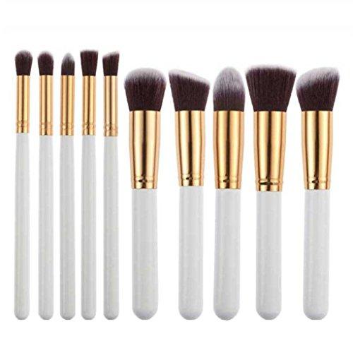 Hosaire 10x Makeup Eyes Brush Set Professionelle Foundation Concealer Verblender Pinsel Damen...