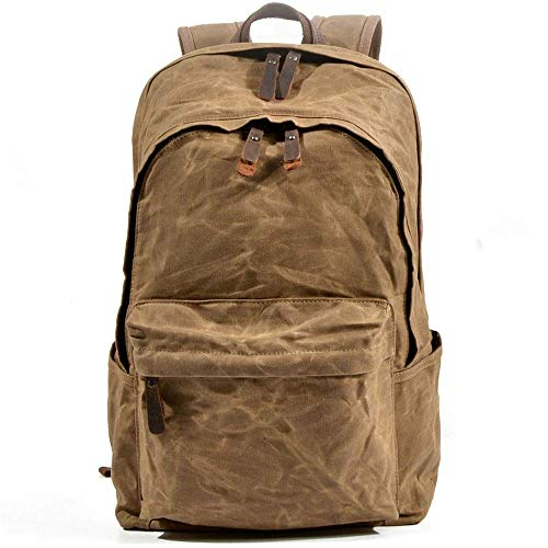 Retro Men's and Women's Casual Backpack Classic Backpack Casual Outdoor Travel Bag Tablet Bag
