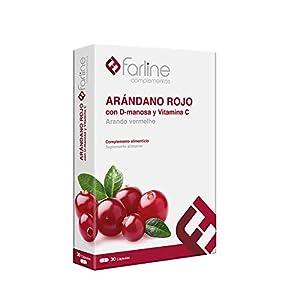 Farline Complemento Alimenticio Arándono Rojo 30 cápsulas