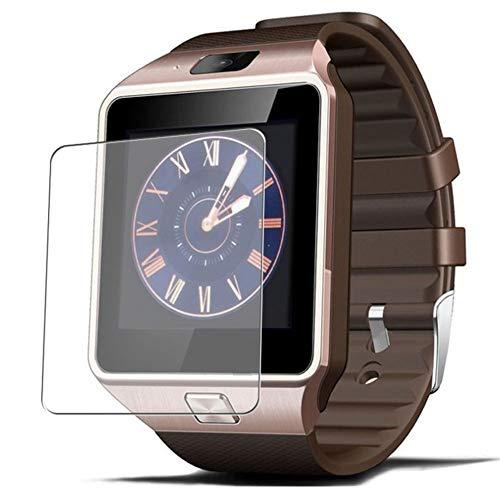 Vaxson 3-Pack TPU Pellicola Protettiva, compatibile con Smartwatch Smart Watch ZOMTOP EMEBAY Hocent DZ09, Screen Protector Film [Non Vetro Temperato Custodia Cover ]