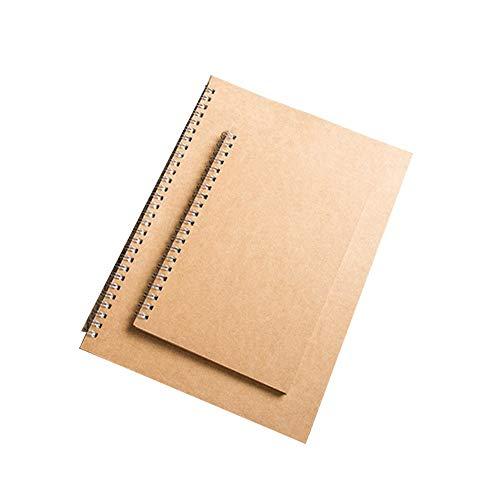 Mood cabin record book Cuaderno De Tapa Dura De Cuero,Cuaderno De Hojas Sueltas,Cuaderno De Color Retro,Mejor Regalo (16K + 32K) Compre uno y reciba uno Gratis, Dos en uno