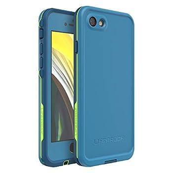 Lifeproof FRĒ SERIES Waterproof Case for iPhone SE  2nd gen - 2020  and iPhone 8/7  NOT PLUS  - Retail Packaging - BANZAI  COWABUNGA/WAVE CRASH/LONGBOARD