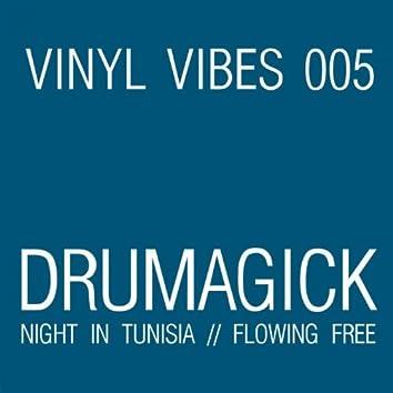Night In Tunisia / Flowing Free (feat. Joseph Malik)
