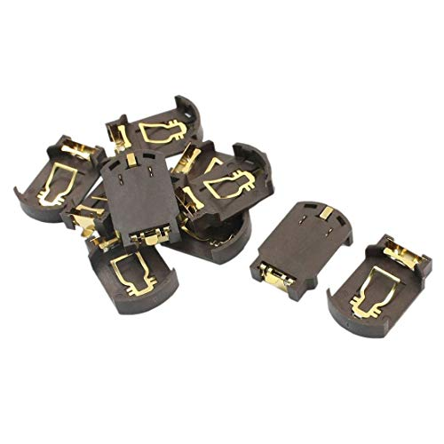 10 x CR2032 Battery Base Holder Plastic Button Cell for SMD SMT