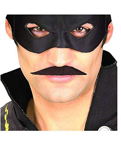 Horror-Shop Zorro moustache