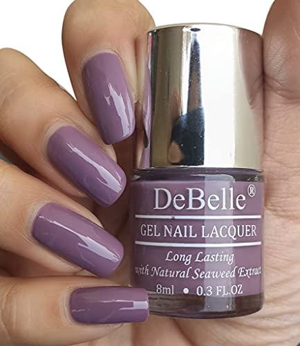 DeBelle Gel Nail Polish Mauve Orchid (Dark Mauve), 8 ml