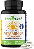 Best Vitamin D3 Supplements - Vitamin D3 50,000 IU Weekly Supplement - 120 Review