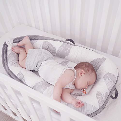 LOAOL Baby Lounger Newborn Co Sleeping Bassinet Reversible Portable | Amazon