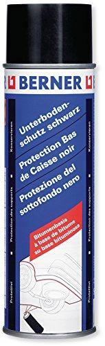 Berner Profi Unterbodenschutz 2001 schwarz 500 ml Dauerhaftes Beschichten von Fahrzeug-Unterböden, Kotflügeln, Schwellern, Front- und Heckschürzen