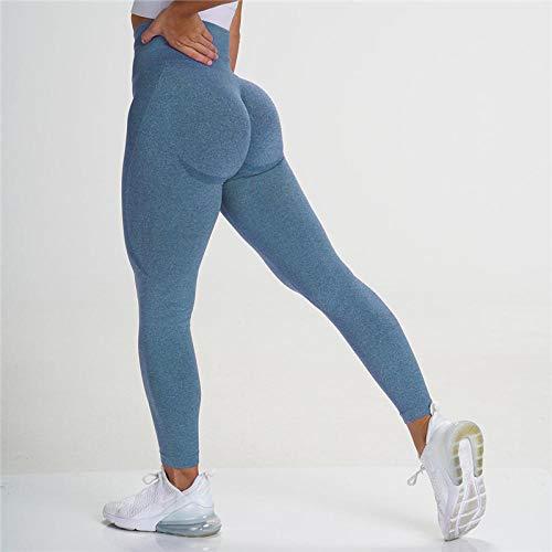 Neue Vital Seamless Leggings Für Frauen Workout Gym Legging High Waist Fitness Sporthose Butt Booty Legging Sport Leggings S Darkblue