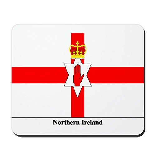 CafePress - Northern Ireland - Non-slip Rubber Mousepad, Gaming Mouse Pad