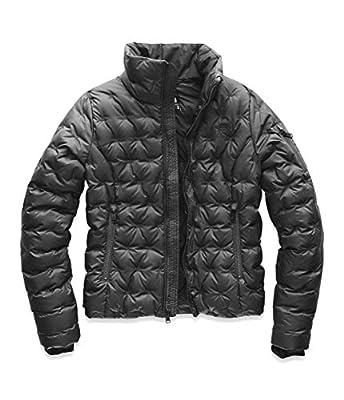 The North Face Women's Holladown Crop Jacket, Asphalt Grey, S