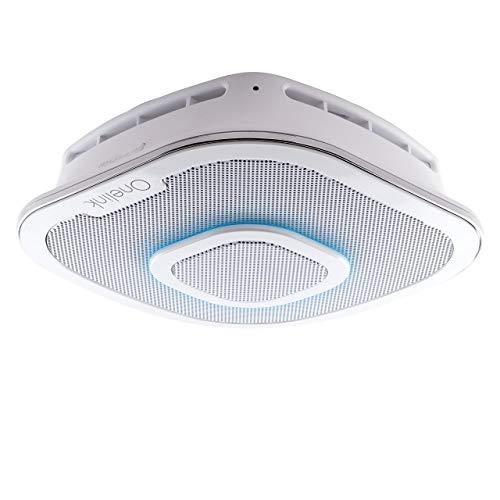 First Alert Onelink Safe & Sound - Smart Hardwired Smoke + Carbon Monoxide Alarm and Premium Home Speaker with Amazon Alexa, 2-pack
