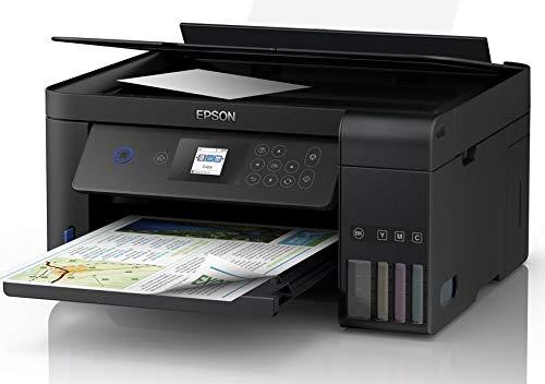 Epson L4160 Multi-function Wireless Color Printer (Black, Ink Bottle) Multi-function Monochrome Printer(Black)