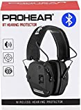 PROHEAR 030 Bluetooth 5.0 Electronic Shooting Ear Protection Earmuffs, Noise Reduction Sound Amplification Hearing Protector for Gun Range and Hunting
