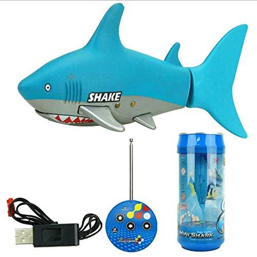 Los buques de tiburón Mini Barco de juguete 2,4 GHz Submari